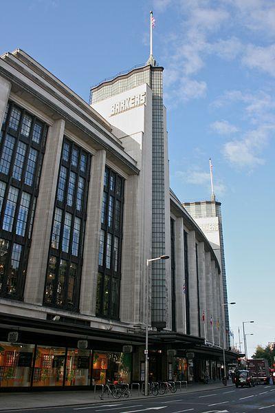 Barkers Building, Kensington High Street, London