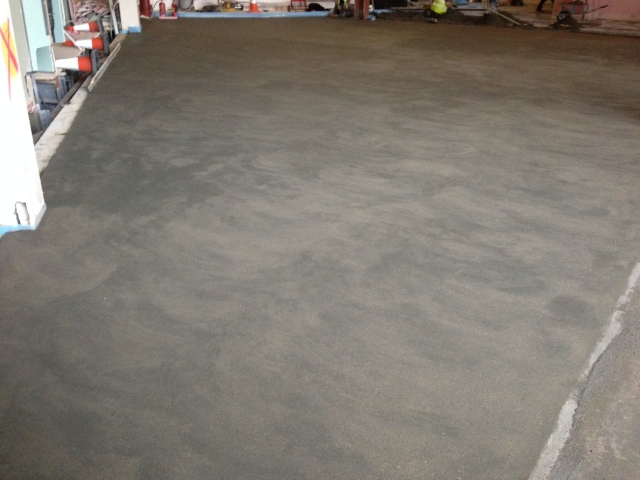 Screed Finish